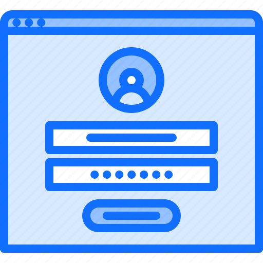 account, hacker, login, network, password, protection, security icon