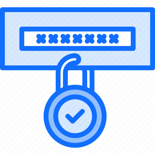 hacker, lock, network, password, protection, security icon