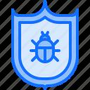 antivirus, hacker, network, protection, security, shield, virus