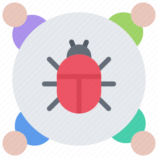 Bug, hacker, network, protection, security, virus icon - Download on Iconfinder