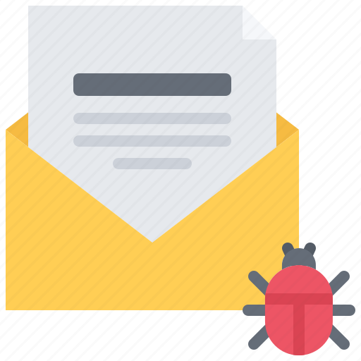 email, hacker, mail, network, protection, security, virus icon
