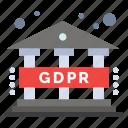data, gdpr, regulation icon