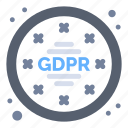data, gdpr, privacy, regulations icon