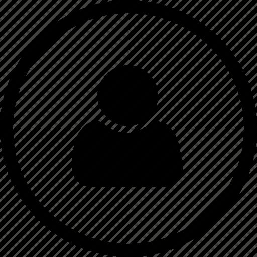 configuration, data, settings, user icon