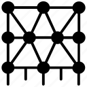 algorithm, data science, machine learning, pattern recognition, pattern system icon
