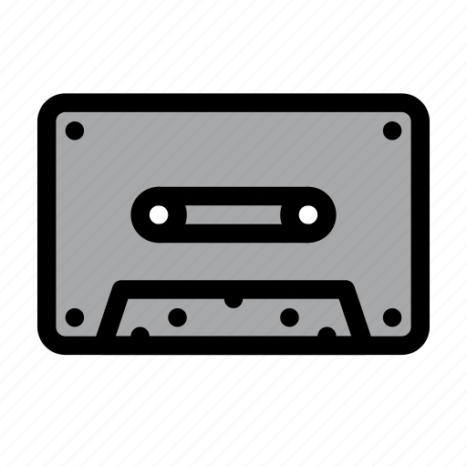 Audio, cassette, music, tape icon - Download on Iconfinder