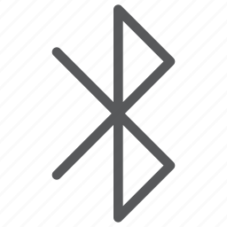 bluetooth, connect, data, internet, network, symbol, transfer icon