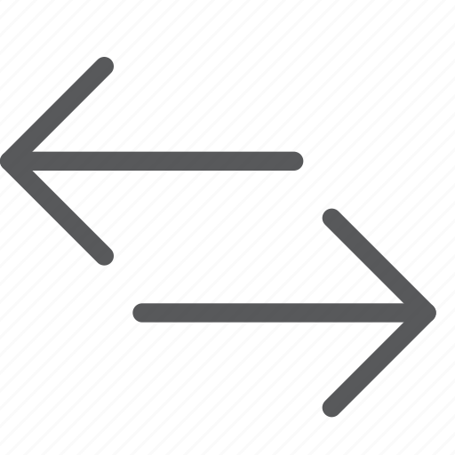 arrow, connect, data, left, right, share, traffic, transfer icon