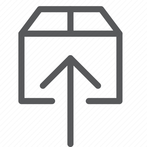 arrow, data, file, package, send, share, up, upload icon