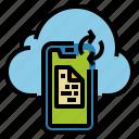 app, big, cloud, data, mobile, sync, transfer