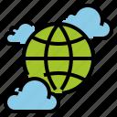 cloud, data, device, online, server, storage, transfer icon