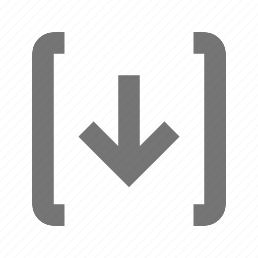 arrow, direction, down, download, navigation, pointer, receive, save icon