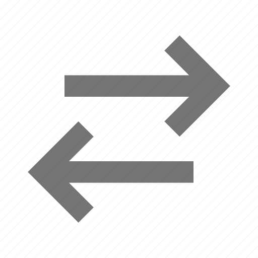 arrows, data transfer, direction, left, navigation, pointer, right, transfer icon