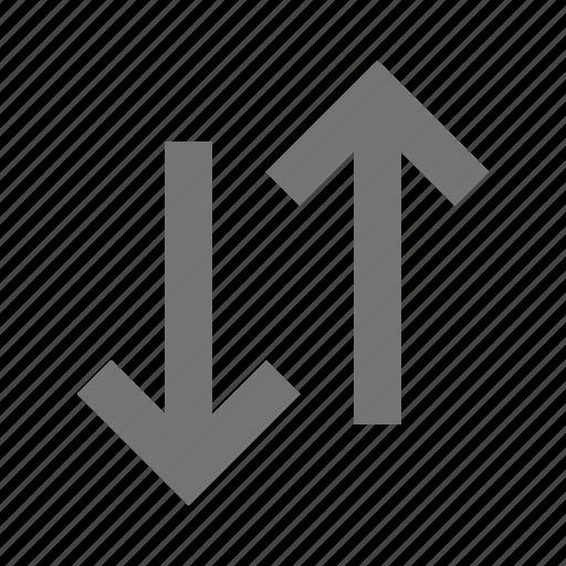 arrows, data, direction, navigation, receive, save, send, transfer icon