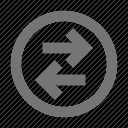 Transfer, arrows, data, direction, left, navigation, pointer icon - Download on Iconfinder