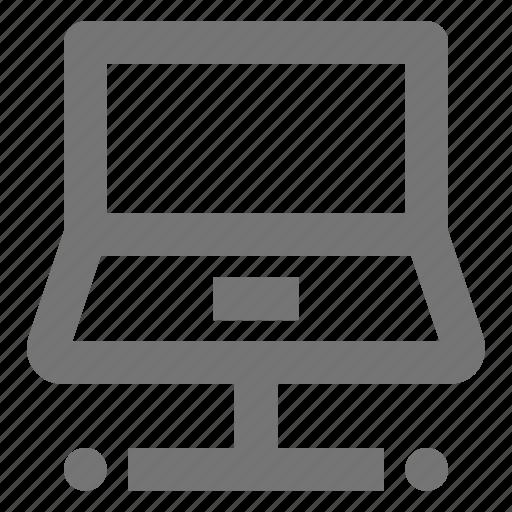 laptop, network icon