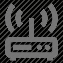 modem, wifi icon