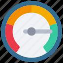 data, meter, full, performance, measure icon