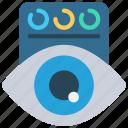 data, visualisation, visualise, eye, view