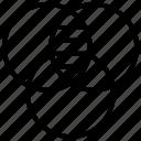 circles intersection, cmyk, interlocking circles, overlapping, venn diagram icon
