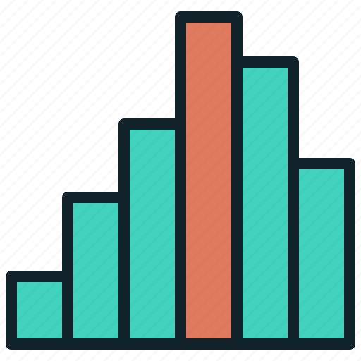 bar, chart, stat, statistics icon