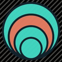 chart, circle, circular, data, infographics, visualization icon