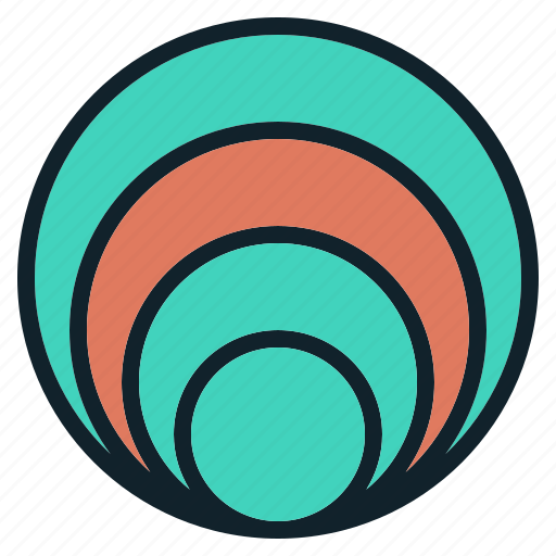 chart, circle, circular, data, infographics, visualization icon