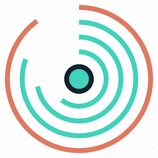 chart, circular, data, infographic, modern icon