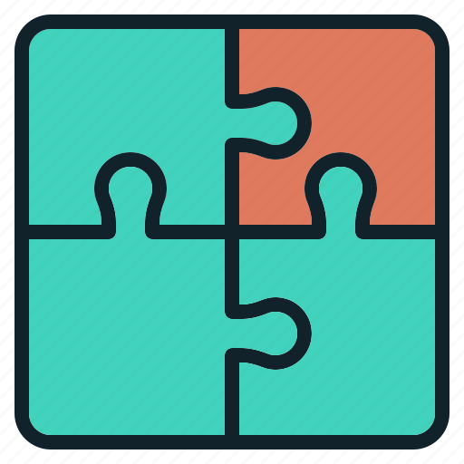 data, group, jigsaw, puzzle, trick icon