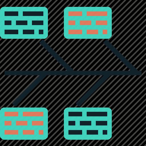 Bone, fish, graph, timeline icon - Download on Iconfinder