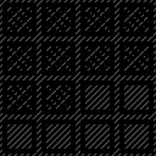 block, chart, equalizer, pattern, percent icon