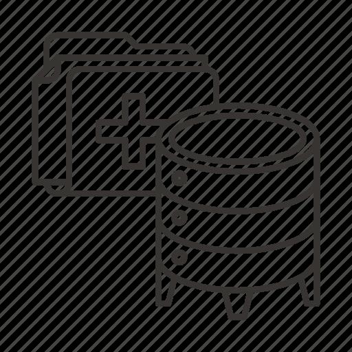 Data, database, folder, ftp, hosting, server, storage icon - Download on Iconfinder
