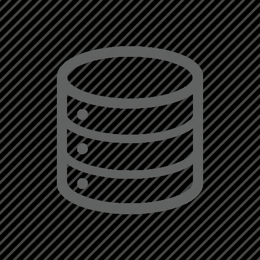 data, database, harware, network, server icon