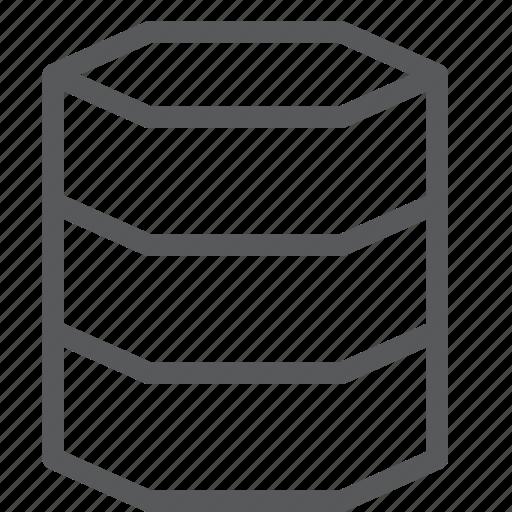 data, database, hosting, layers, network, server icon