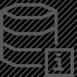 data, database, hosting, information, layers, network, server icon