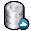 big data, cloud, data, database, server, storage icon