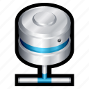 cloud, connection, data, database, network, storage icon