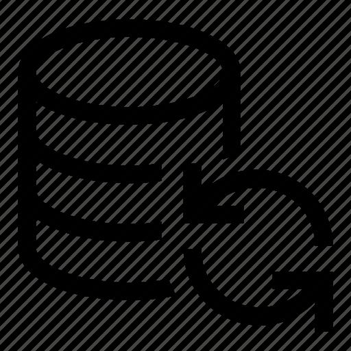 Db, storage, database, sync, refresh icon - Download on Iconfinder