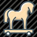 trojan, horse