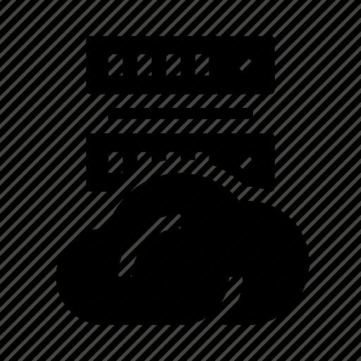 cloud, data, database, db, server icon