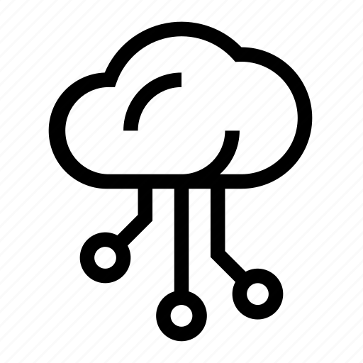 cloud, data, database, network, server icon