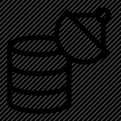 connection, data, database, satellite, server icon