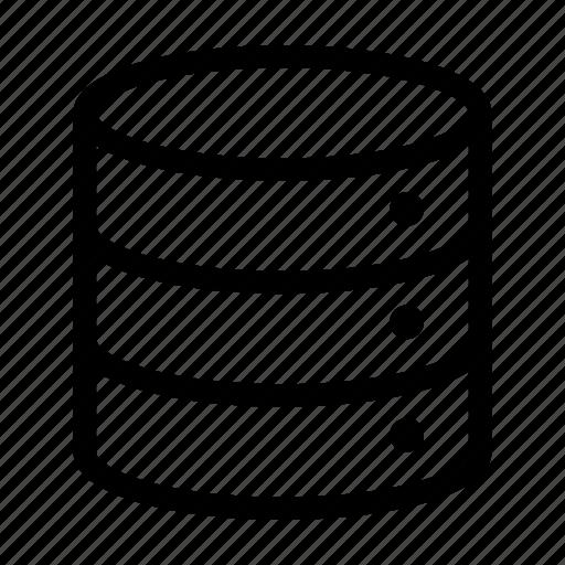 big  data  database  server icon