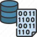 binary, file, data, storage, information