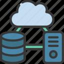 cloud, computer, data, network, storage