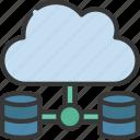 cloud, data, network, storage, information