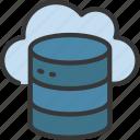 cloud, data, storage, information, database