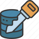 data, key, storage, information, technology