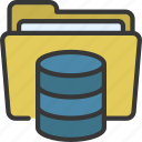 foldered, data, storage, information, files