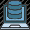 laptop, data, storage, information, computer